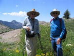 Garness Curtis and Burt Slemmons, Sonora Pass, 2004